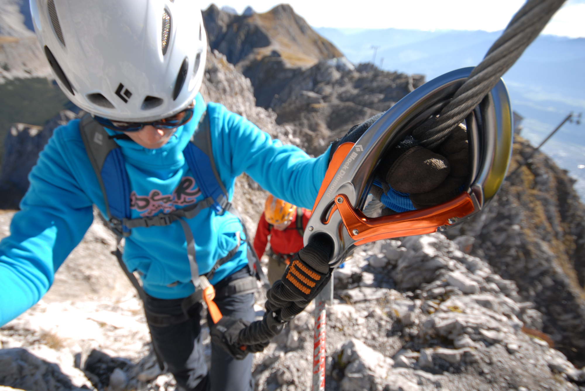 Black Diamond Klettersteigset : Klettersteigset norm bergundsteigen