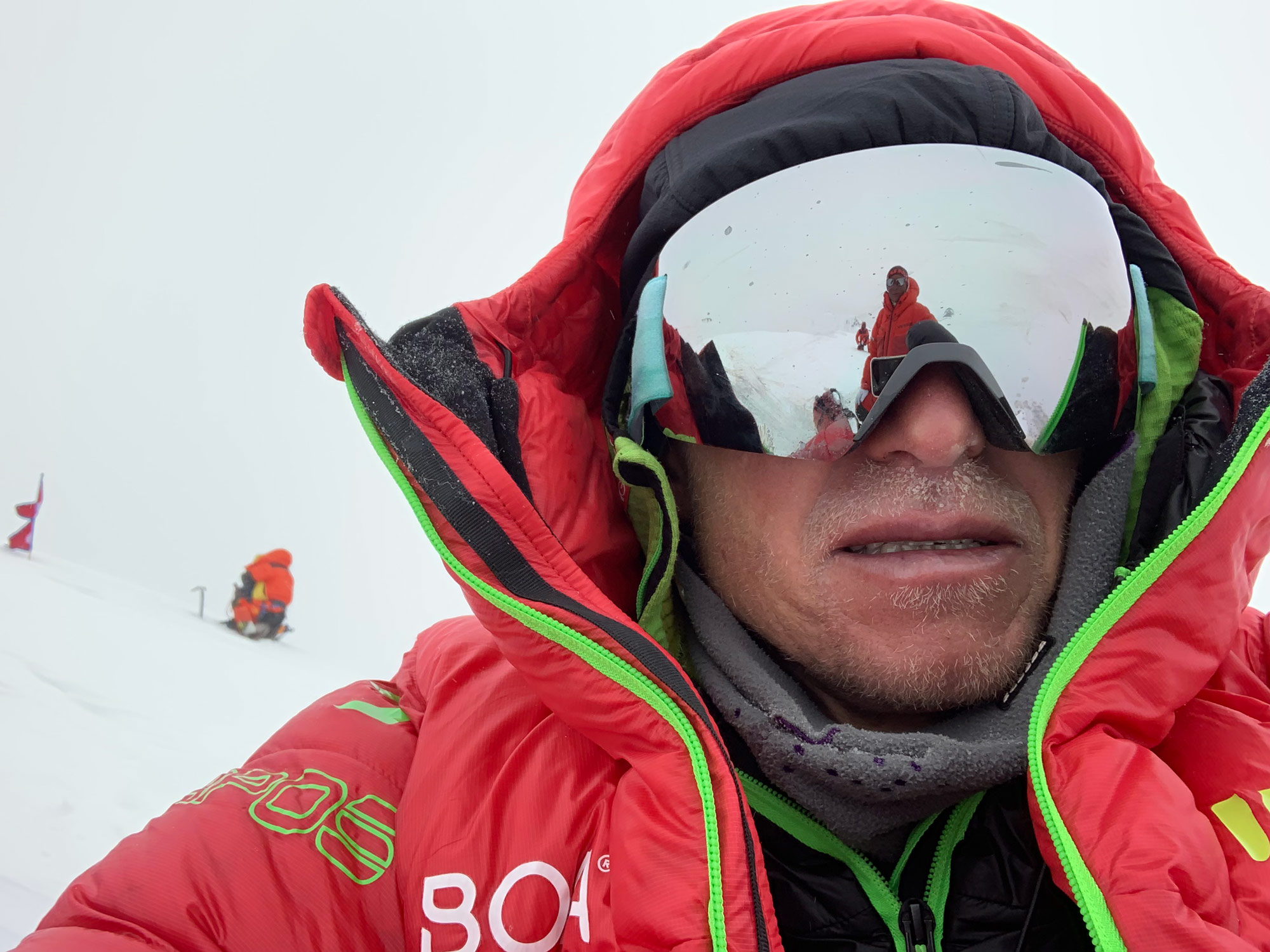 Handy Selfie am Broad Peak, Max Berger I bergundsteigen.blog