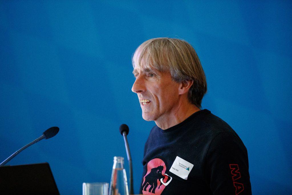 Thomas Wälti, Technischer Leiter Graubünden im Schweizer Bergführerverband (SBV). ©Marco Kost