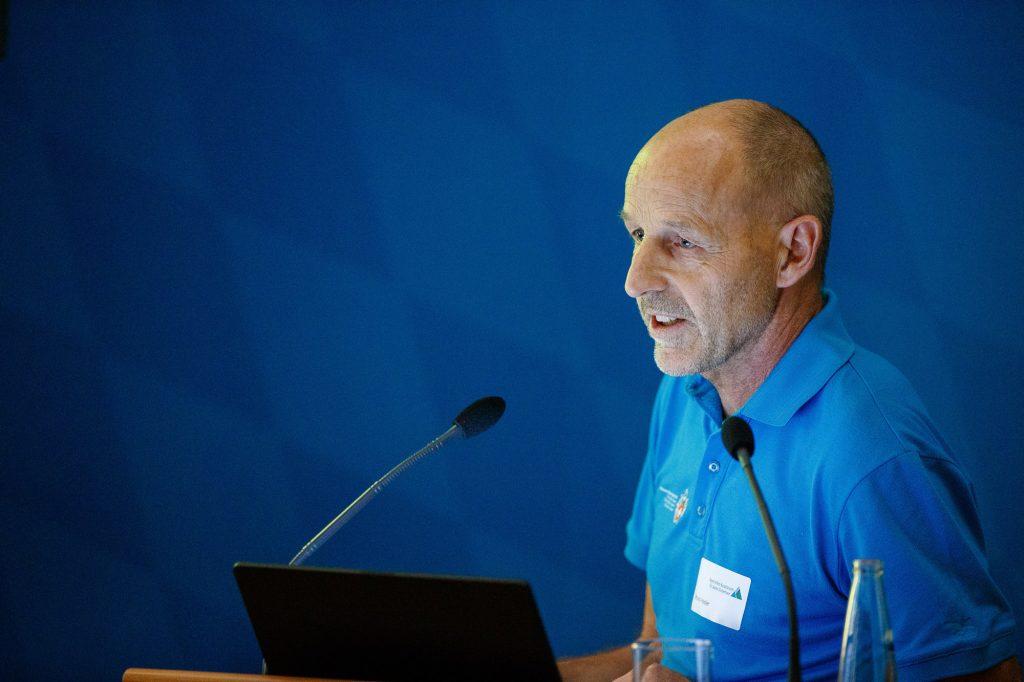 Bruno Hasler, Bereichsleiter Ausbildung und Sicherheit im Schweizer Alpen-Club (SAC). ©Marco Kost