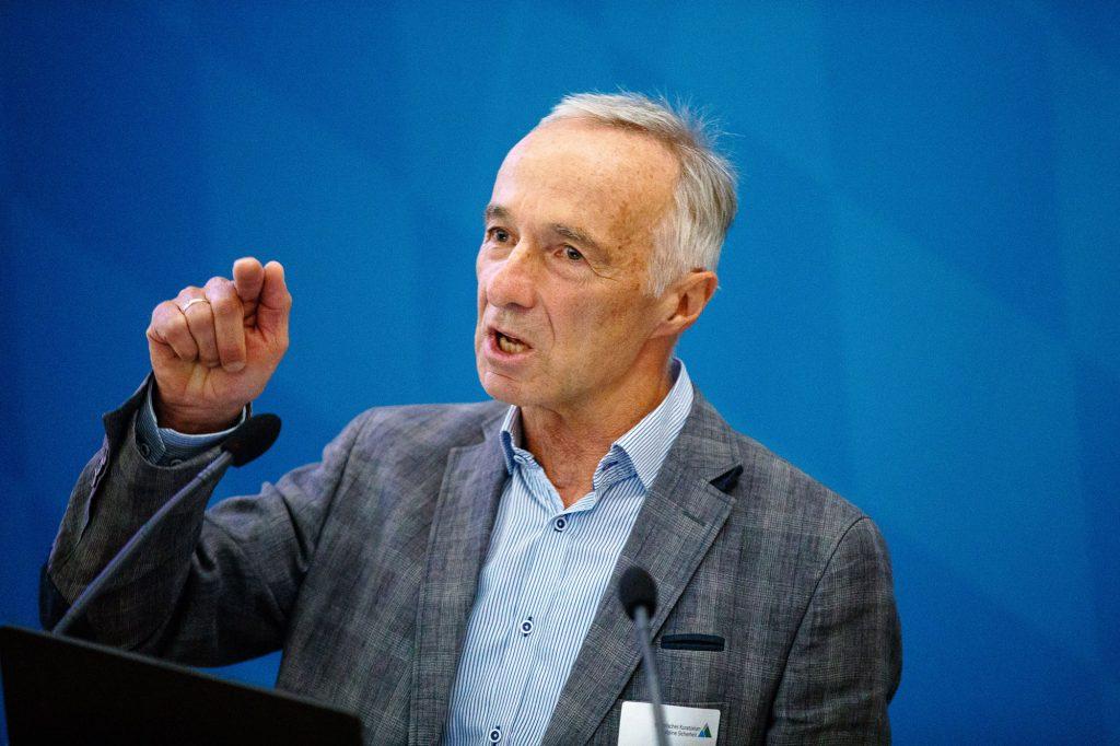 Robert Mayer, Ressortleiter Bildung im Deutschen Alpenverein (DAV). ©Marco Kost
