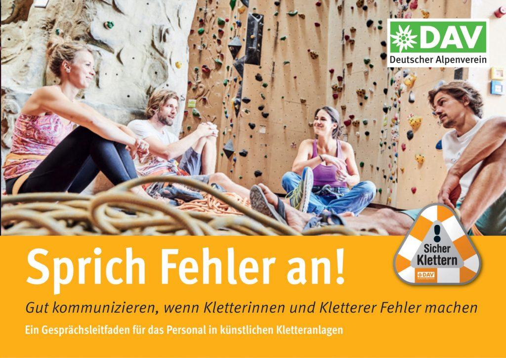 Risikokultur in Kletterhallen, Teil 2; @DAV I bergundsteigen.blog