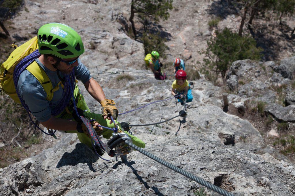 Seiltechnik am Klettersteig, Gerhard Mössmer & Christoph Hummel I bergundsteigen.blog