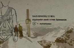 """""""Gehen am kurzen Seil als sicherungs- und führungstechnische Maßnahme"""" von Klaus Hoi I bergundsteigen.blog"""