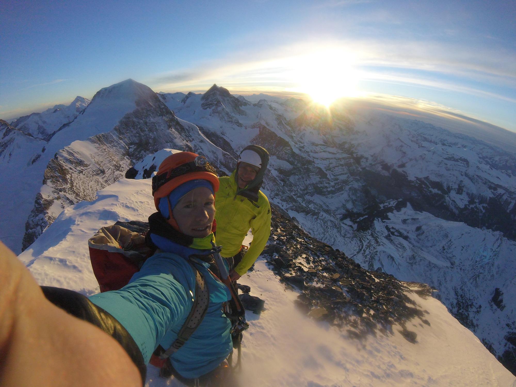 Simon Messner, Eiger Nordwand Nordpfeiler I bergundsteigen.blog