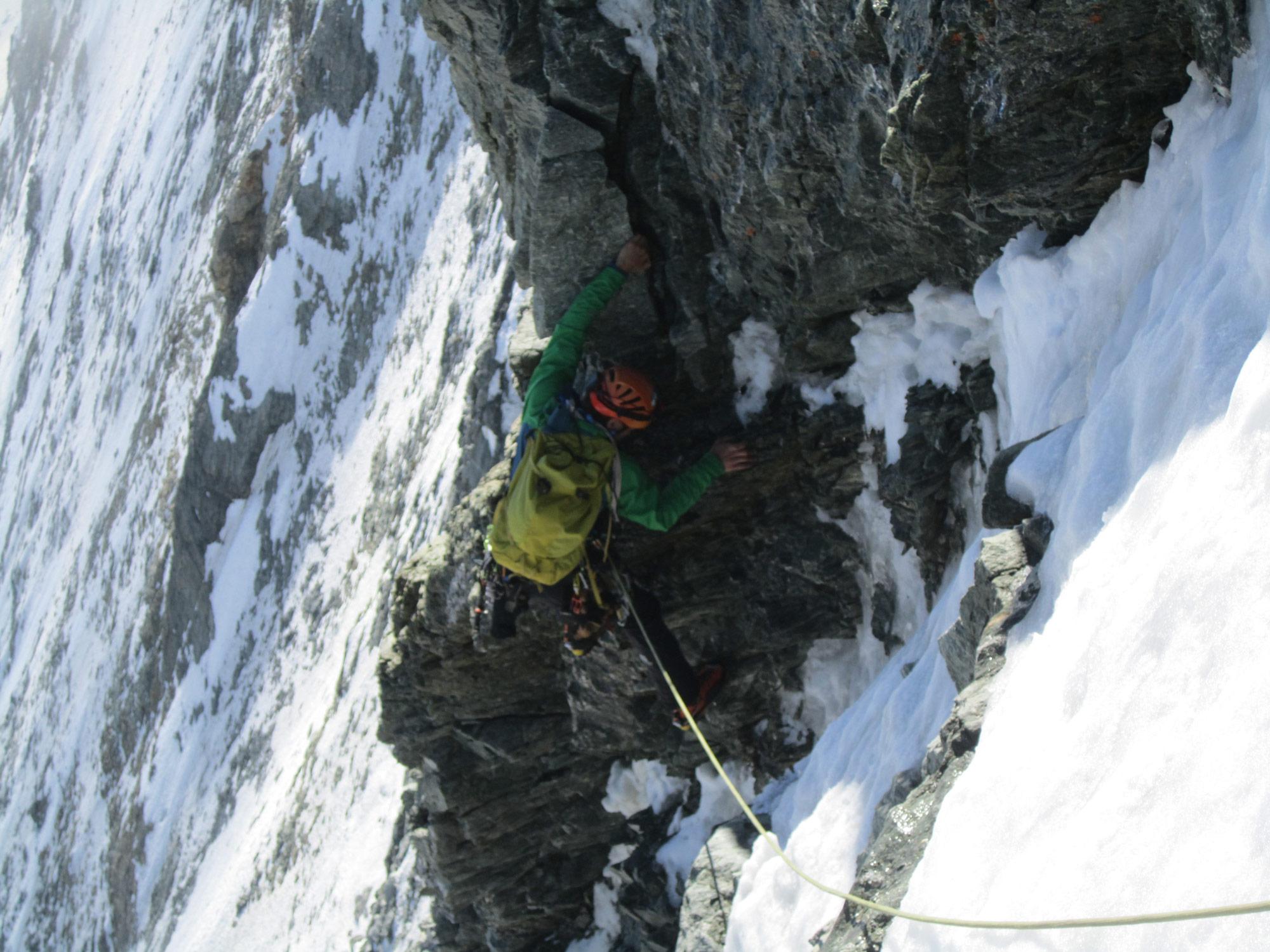 Simon Messner, Matterhorn Nordwand I bergundsteigen.blog