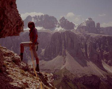 Reinhold Messner, Cirspitzen 1976, © Archiv Messner I bergundsteigen.blog