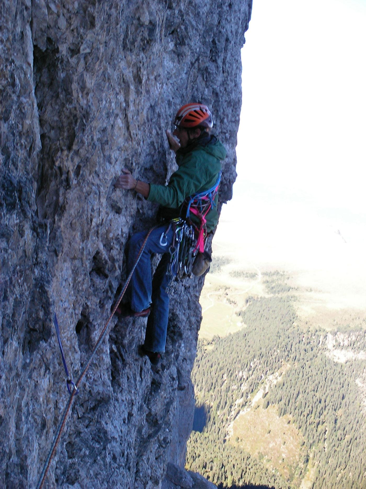 Simon Messner, Erstbegehungsversuch Geislerspitzen I bergundsteigen.blog