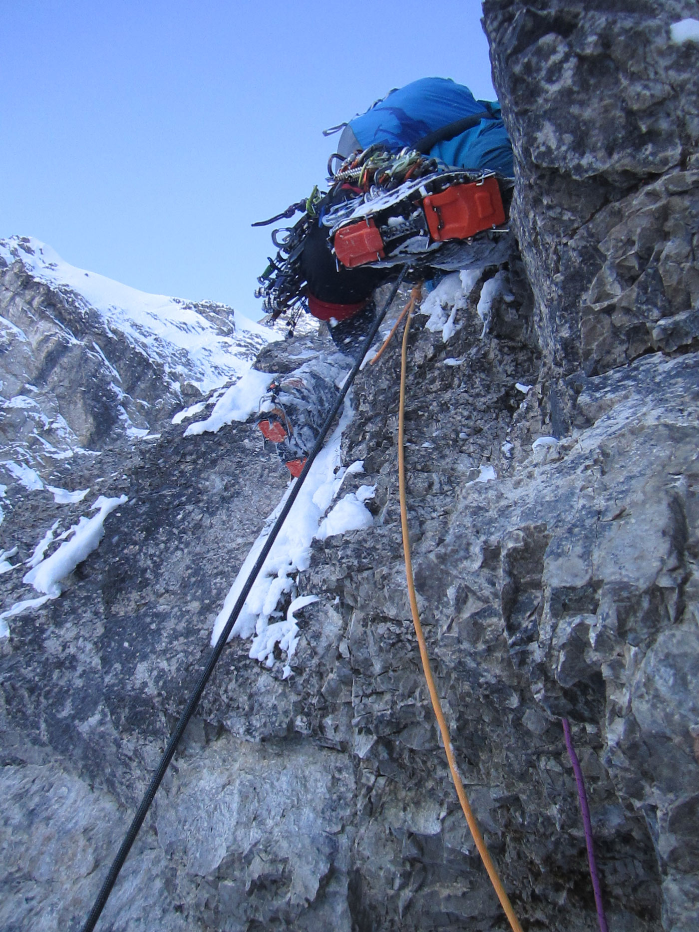 Simon Messner, Nordwand Geierköpfe I bergundsteigen.blog