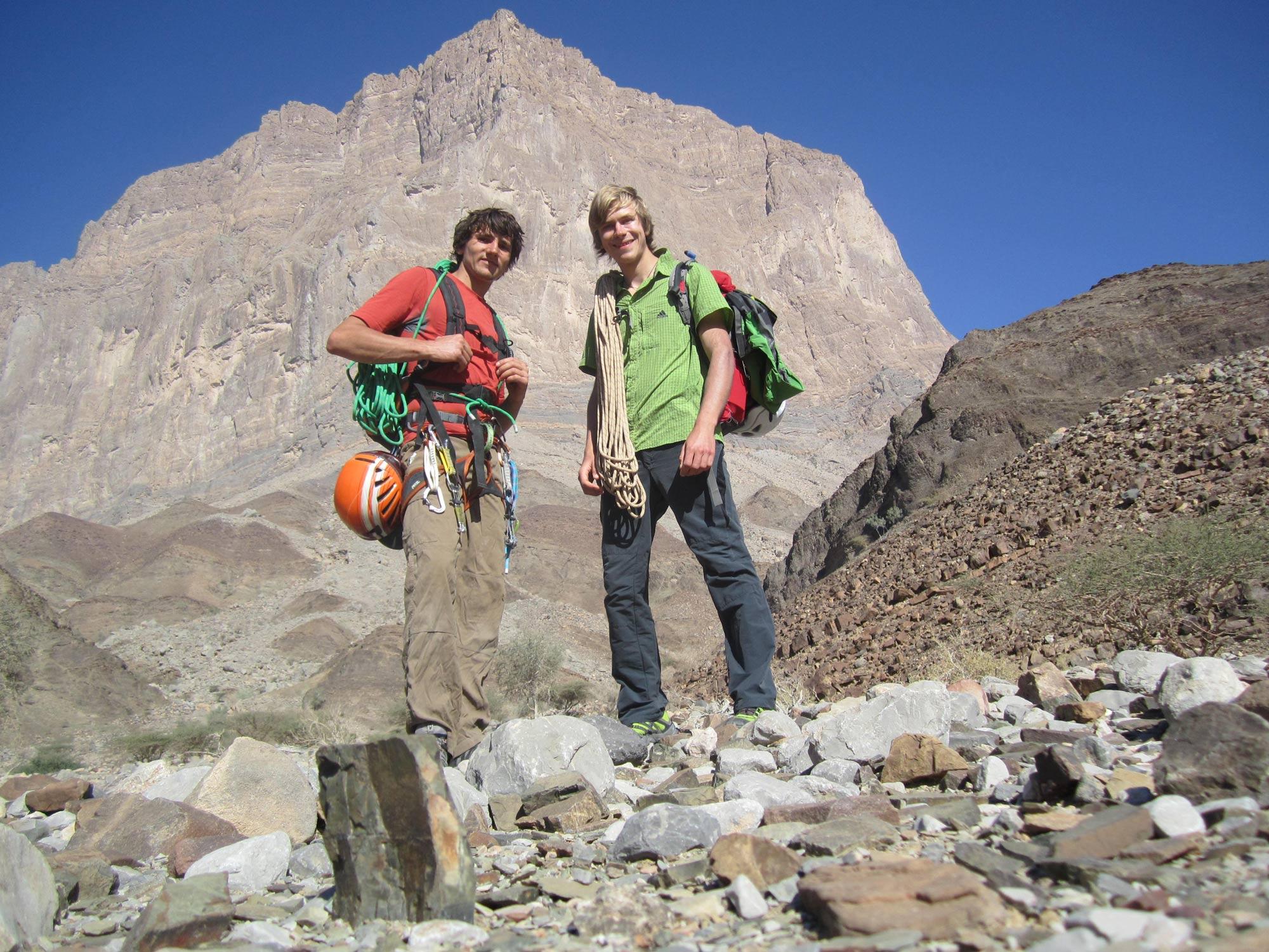 Simon Messner, Jebel Misht, Oman I bergundsteigen.blog