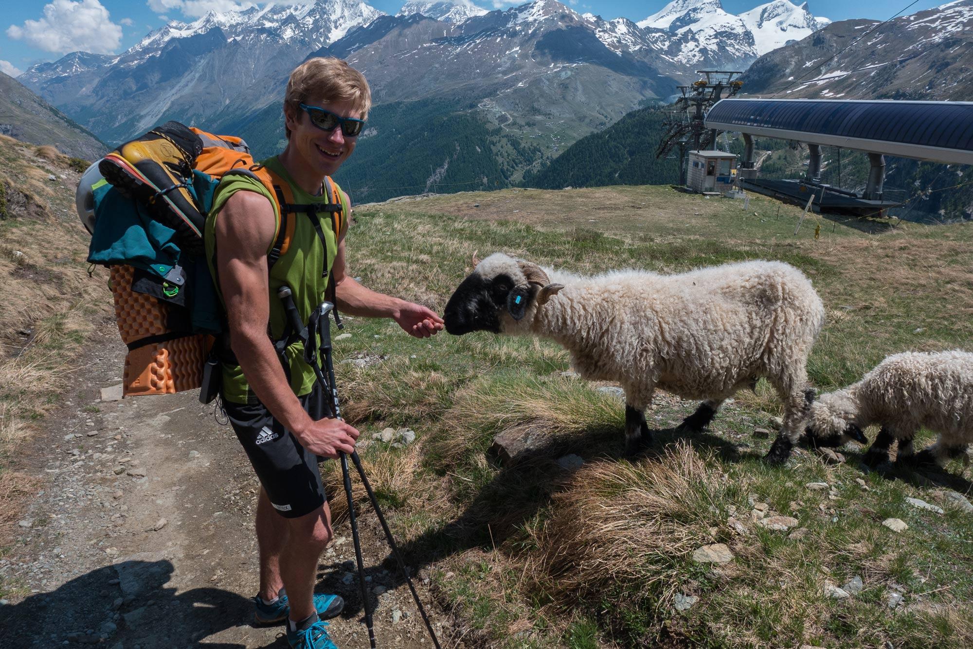 Simon Messner, Zustieg Matterhorn I bergundsteigen.blog