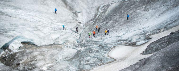 Gletscher, Foto: Pauli Trenkwalder I bergundsteigen.blog