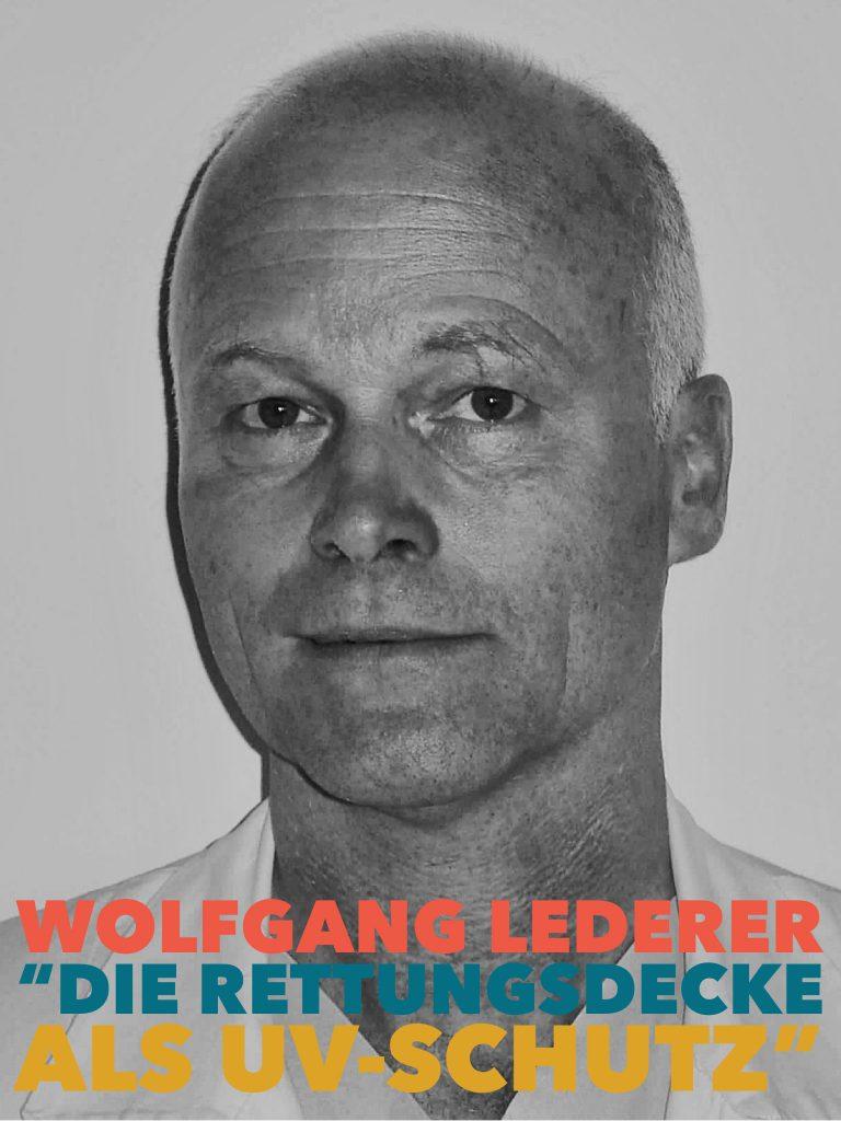Wolfgang Lederer, die Rettungsdecke als UV-Schutz I bergundsteigen.blog