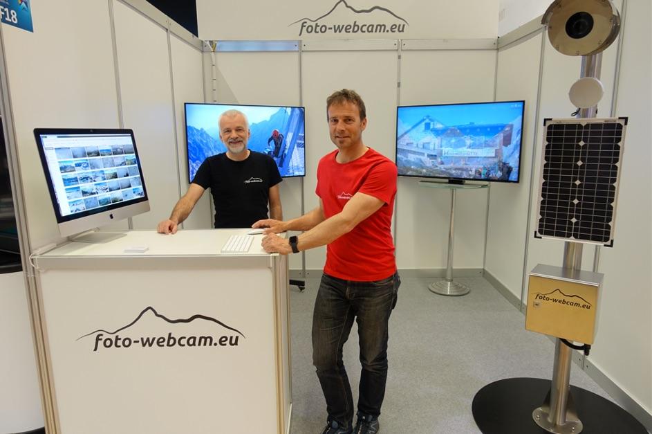 Florian Radlherr und Gerhard Keuschnig von foto-webcam.eu Foto: foto-webcam.eu