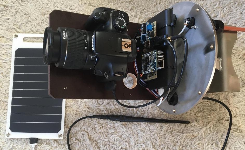 Gerade im Testbetrieb: kleine low-power Foto-Webcam. Foto: foto-webcam.eu