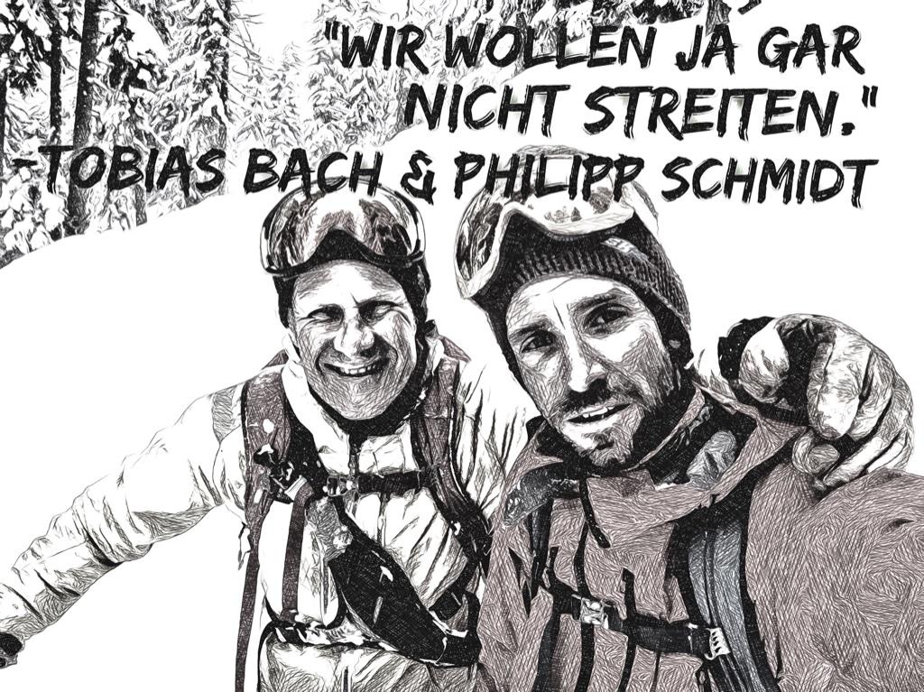 Tobias Bach & Philipp Schmidt I bergundsteigen.blog