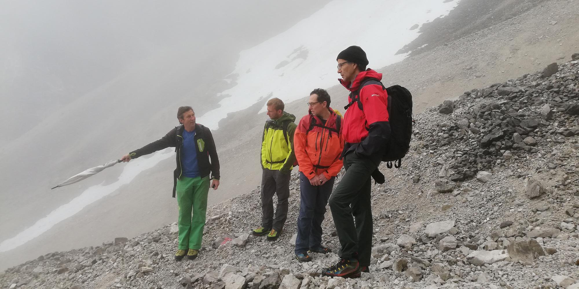 Experten-Begehung im Rahmen einer R.A.G.N.A.R.-Beurteilung Foto: Walter Würtl