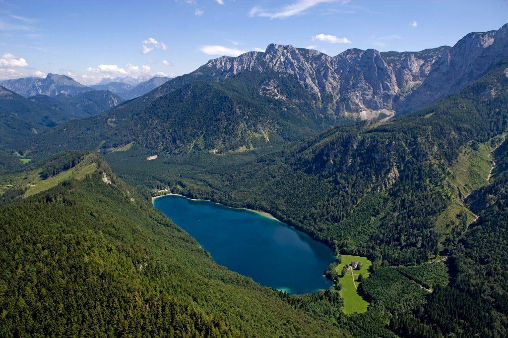 Vorder Langbathsee, © Ferienregion Traunsee Spengler I bergundsteigen.blog