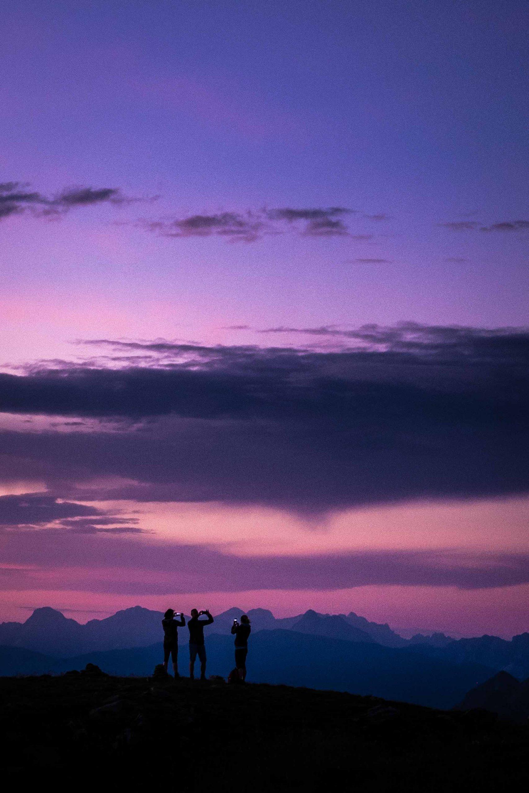 """Massen am Berg """"Einsamkeit wie bist du überbevölkert"""" (Stanislaw Jerzy Lec), @ Pauli Trenkwalder I bergundsteigen.blog"""