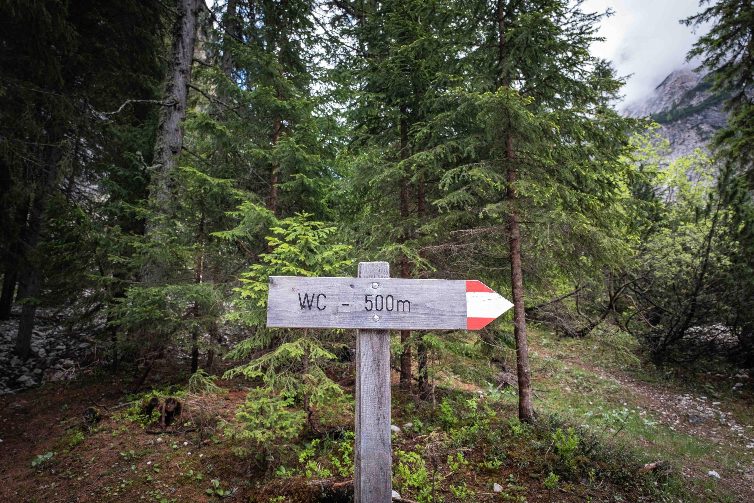 Verboten? Oder einfach keine gute Idee? FAQs zum Verhalten am Berg. © Pauli Trenkwalder I bergundsteigen.blog