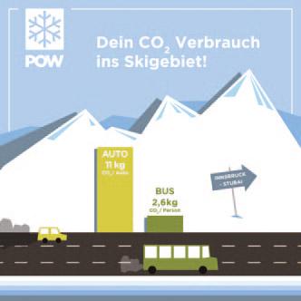 Von Innsbruck ins Skigebiet Stubaier Gletscher.