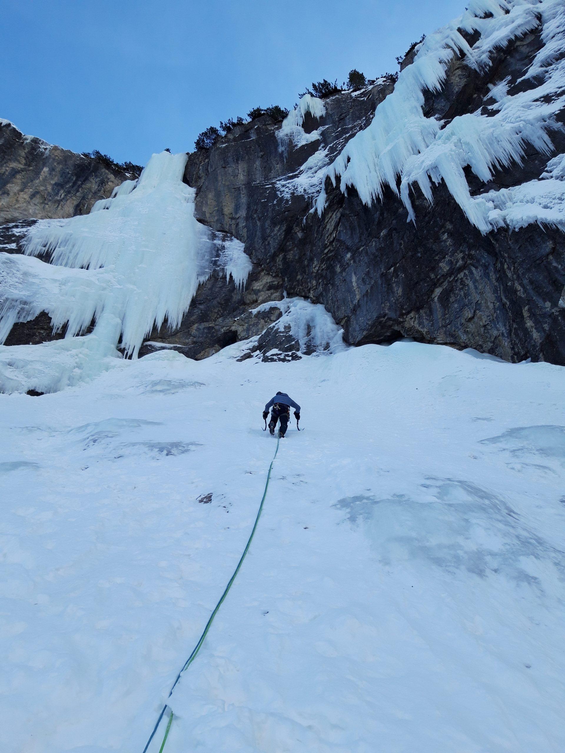 Eremit Zustieg Pinnistal (Stubai), Tirol. Foto: Simon Messner
