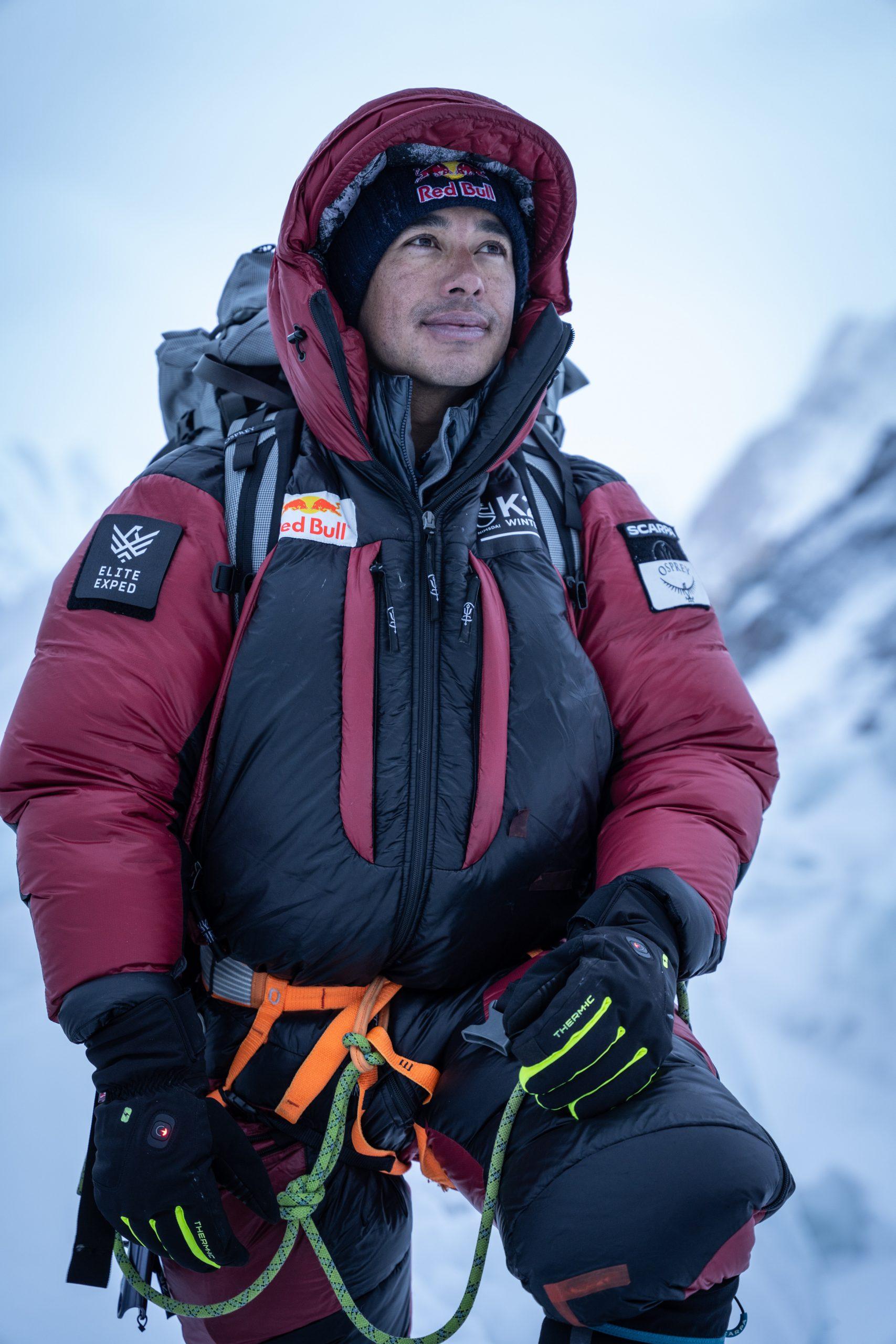 Nirmal Purja gelang auch die erste Winterbesteigung des K2 im Januar 2021. Foto: Red Bull