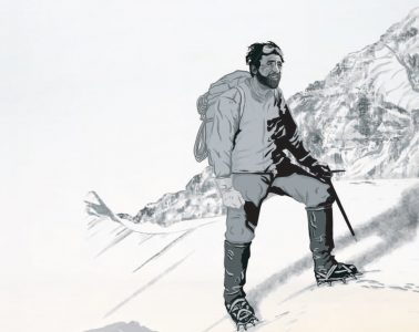 Hermann Buhl. Illustration: Roman Hösel