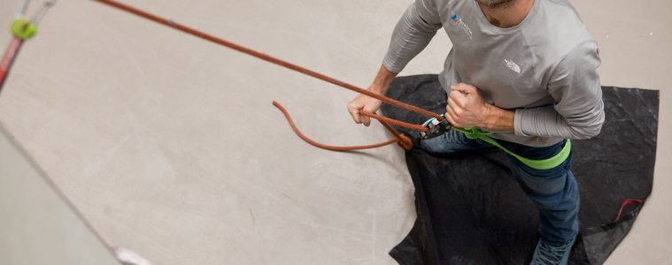 Vorsicht Seilsackschlaufe! OEAV Foto: Markus Schwaiger