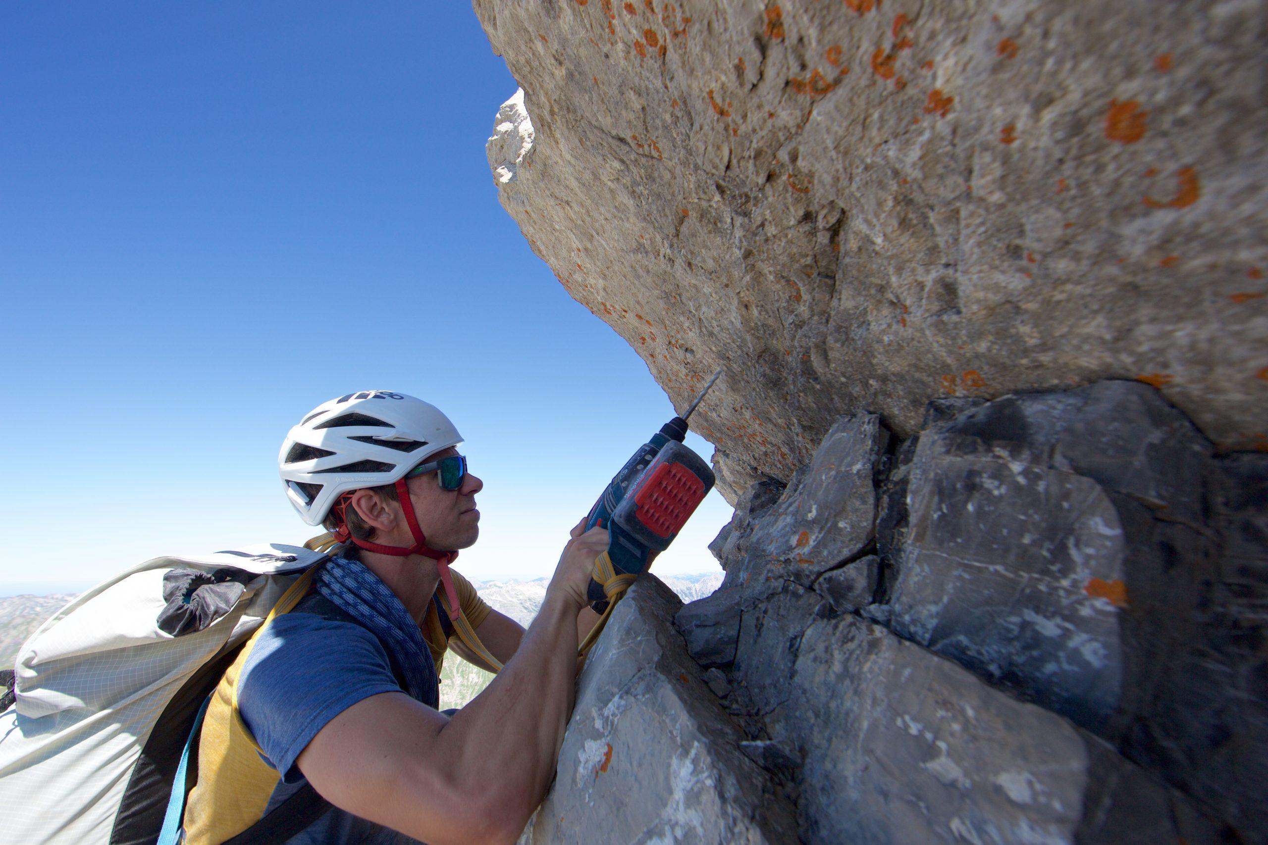Gefühlvoll: Bergführer Marvin Kärle legt Wert auf Sorgfalt beim Erschließen. (Foto: Marvin Kärle)